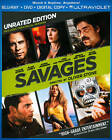 Savages (Blu-ray/DVD, 2012, 2-Disc Set, Unrated Includes Digital Copy UltraViolet)