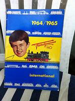 Fleischmann Katalog aus dem Jahre 1964/65 HO sehr selten aus Sammlung