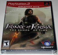 Prince of Persia: The Sands of Time (PlayStation 2) ..Brand NEW!!