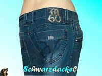 Miss Sixty Collection Jeans ♥ BINKY ♥ blau Röhre W 29