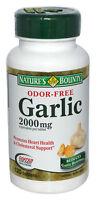 Nature's Bounty, Odor-Free Garlic 2000 mg - 120 Tablets