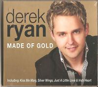 DEREK RYAN MADE OF GOLD - 14 TRACK NEW CD COUNTRY & IRISH