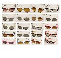 Wayfarer Sunglasses Vintage Retro Classic Mens Womens Aviator UV400 Summer Shade