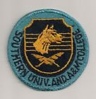 SOUTHERN UNIVERSITY AND A&M COLLEGE ROTC PATCH CUT EDGE