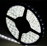 3528 5M 300 LEDs 60LED/M Waterproof Light Strip SMD White 12v 24W SuperBright