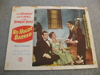 "Leo Gorcey,Huntz Hall&Bowery Boys ""No Holds Barred"" Movie Lobby card  #52/508"