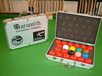 ARAMITH 1G TOURNAMENT CHAMPION  MATCH SNOOKER BALLS  (SOLD  OUT)