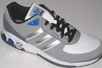 Men's New ADIDAS MEGA VARIO Grey Leather Trainers