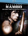 Rambo Trilogy (Blu-ray Disc, 2008, 3-Disc Set)