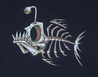 T-Shirt Bonefish, (Fish Bone) NEU, Größe:.S bis 3XL (bis 5XL möglich, +3 EUR)