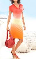 Feinstrickkleid m. Farbverlauf v. Best Connection * Größen: 36 - 44  Sommerkleid
