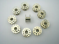 20 SEWING MACHINE METAL BOBBINS FITS TOYOTA BROTHER JANOME NEWHOME SILVER SINGER