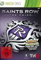 Saints Row: The Third (Microsoft Xbox 360, 2011, DVD-Box) English OVP