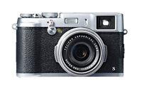 Fujifilm X series X100S 16.3MP Digitalkamera - Schwarz Silber (Kit mit EFL...