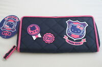 NEW AUTHENTIC SANRIO HELLO KITTY CREDIT CARD CHANGE BAG PURSE LONG WALLET