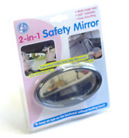 2 in 1 Baby First safety rear view car mirror
