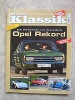 Motor Klassik 7/2000  Opel Rekord