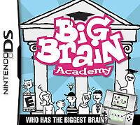 Big Brain Academy (Nintendo DS, 2006)-New & Sealed