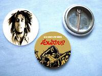 Bob Marley-Set Of 2  Badges Reggae The Wailers
