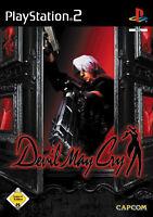 Devil May Cry (Sony PlayStation 2, 2001, DVD-Box) Platinum