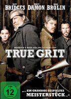 True Grit - Jeff Bridges - Matt Damon - Josh Brolin - DvD - FSK 12 - Neu