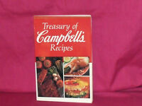 1991 TREASURY OF CAMPBELL'S RECIPES COOKBOOK-SOFT COVER