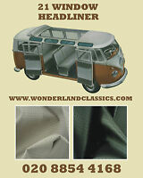 VW Splitscreen Split Camper Kombi Type 2 Headliner 21 or 23 window Samba Deluxe