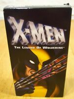 X-MEN The Legend of Wolverine Marvel Comics VHS VIDEO
