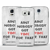 Bob Marley Quote Not Woman No Cry - Hard Phone Case For Samsung Galaxy S Models