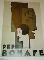 ART DECO old Poster Print Pepa Bonafe Jean Carlu 1928