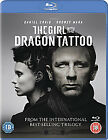 The Girl With The Dragon Tattoo (Blu-ray, 2012, 2-Disc Set)