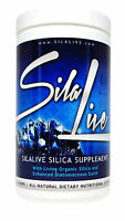 SilaLive Silica With Enhanced Food Grade Diatomaceous Earth Supplement