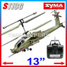 Syma S113G 3Ch AH-64 Apache RC Remote Control Gyro Military Army IR Helicopter