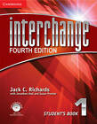 Interchange Level 1 Student's Book with Self-Study DVD-ROM by Jack C. Richards P