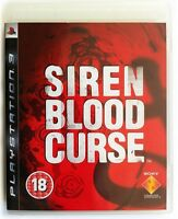 Siren Blood Curse PS3 *in Excellent Condition*