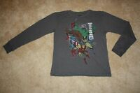 BOYS MARVEL COMICS LONG SLEEVE TEE / T-SHIRT - Size X-Large (New With Tags)