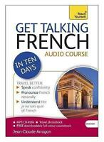 GET TALKING FRENCH IN 10 DAYS BOOK/ MP3 CD-ROM  AUDIO COURSE BRAND NEW SEALED