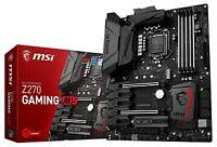 MSI Enthusiastic Gaming Intel Z270 DDR4 VR Ready HDMI USB 3 ATX Motherboard (Z27