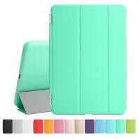 Schutz Hülle Folie Etui Tasche Smart Cover Case Für iPad Air 2 Mint Grün