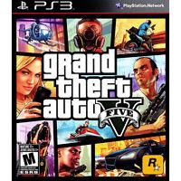 Grand Theft Auto V PS3 [Brand New]