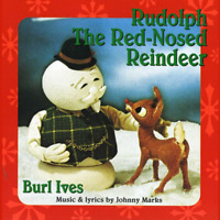 New Rudolph The Red-Nosed Reindeer - Ives, Burl - CD