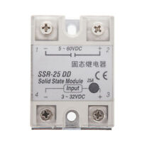 2x(Solid State Relais SSR DC-DC 25A 3-32VDC / 5-60 VDC GY L0T2