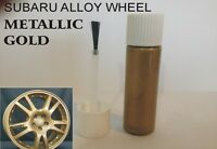 SUBARU ALLOY WHEEL TOUCH UP PAINT STICK GOLD SAME AS ORIGINAL