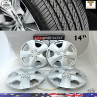 Silver 14 Inch ABS Wheel Skin Rim Cover Wheel Hub Cap For OEM Steel Wheel