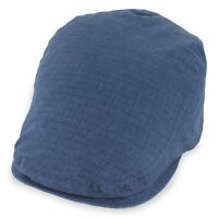 Belfry Street Tonic Lightweight Cotton Ripstop Ivy Cap in 3 Colors XLarge, Navy