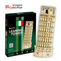 CubicFun 3D Puzzle Paper Model - Leaning Tower of Pisa (Italy) DIY Jigsaw C706h