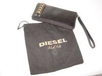DIESEL Black Gold Leather Wallet / Purse BNWT