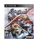 Soul Calibur V (Sony PlayStation 3, 2012) Brand New (NTSC)