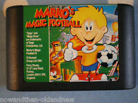 MARKO'S MAGIC FOOTBALL ~ SEGA MEGA DRIVE ~ RETRO ~ UK SELLER ~ FAST POSTAGE