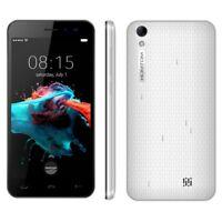 Smartphone 1 Go 8 5,0 pouces Android 6.0 MTK6580 Quad Core à 1,3 GHz 3G Blanc  W